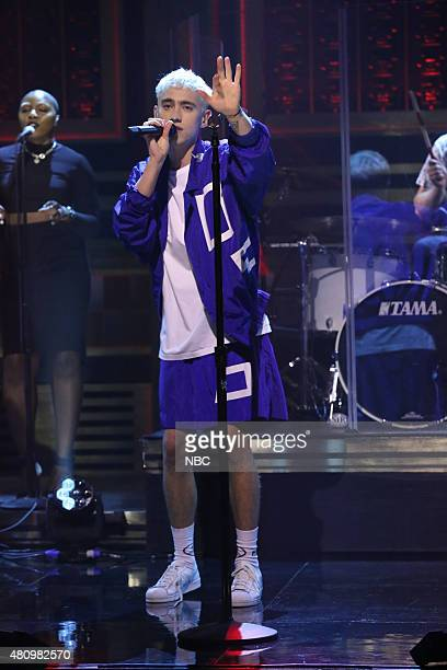 Olly Alexander of musical guest Years Years performs on July 16 2015