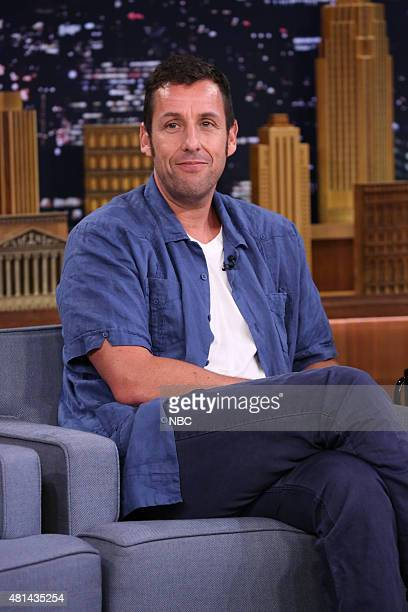 Actor Adam Sandler on July 20 2015