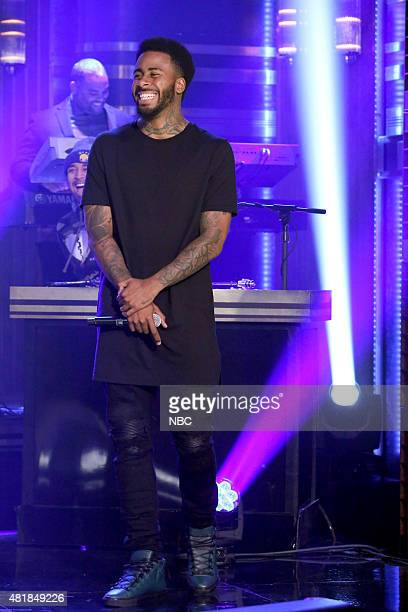 Musical guest Sage The Gemini performs with The Roots on July 23 2015