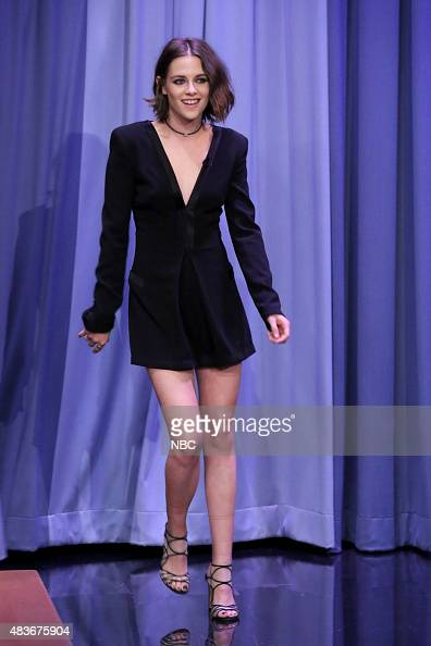 Actress Kristen Stewart arrives on August 11 2015