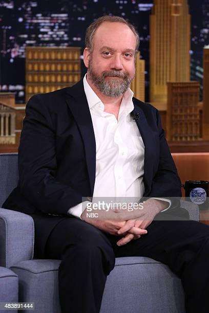 Actor Paul Giamatti on August 13 2015