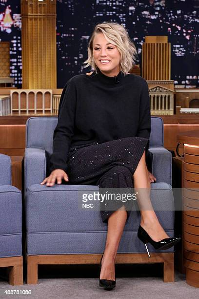 Actress Kaley Cuoco on September 17 2015