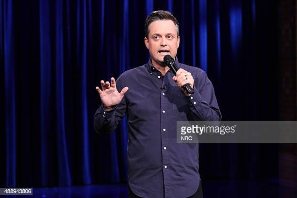 Comedian Nate Bargatze performs on September 18 2015