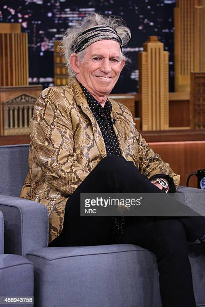 Musician Keith Richards on September 18 2015
