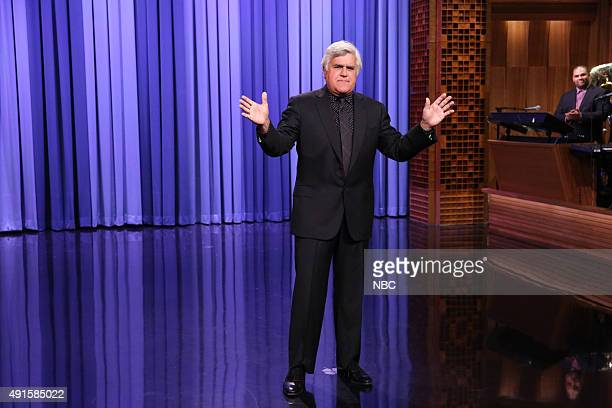 Comedian Jay Leno during the monologue on October 6 2015