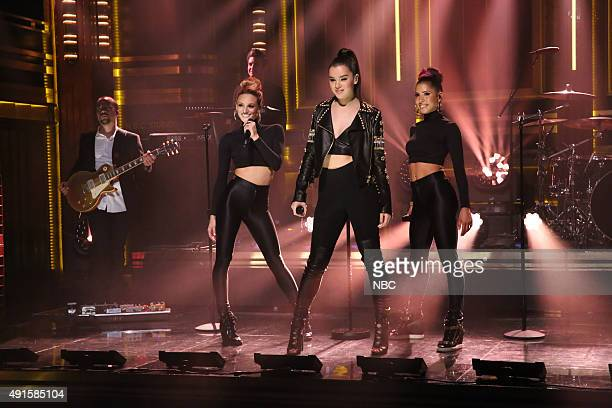 Musical guest Hailee Steinfeld performs on October 6 2015