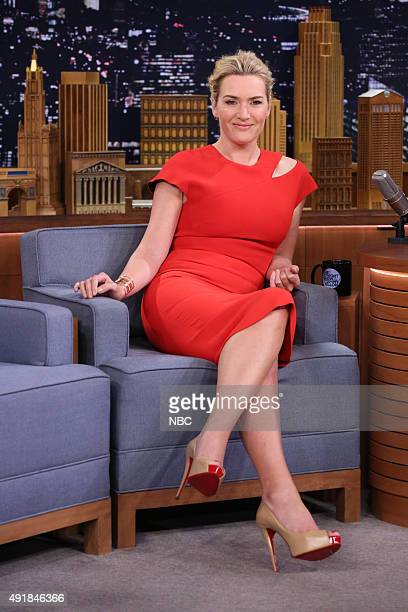 Actress Kate Winslet during an interview on October 7 2015