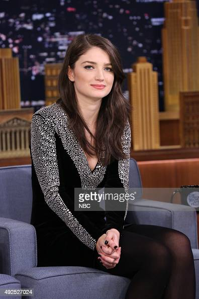Actress Eve Hewson during an interview on October 13 2015