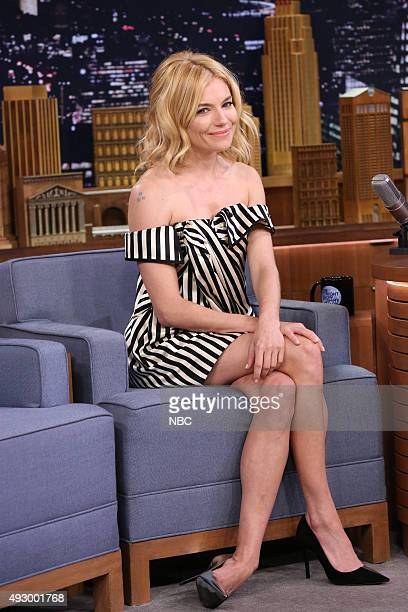 Actress Sienna Miller on October 16 2015
