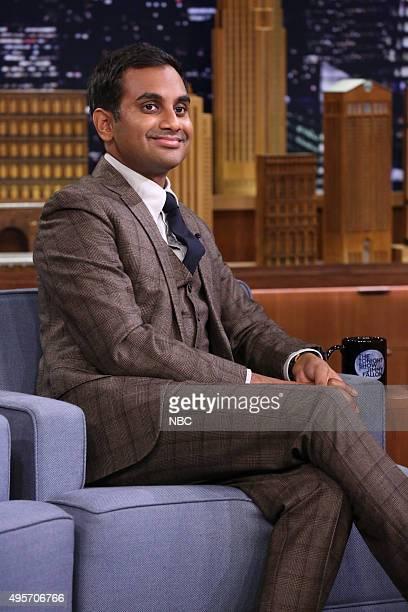 Actor Aziz Ansari on November 4 2015
