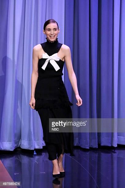 Actress Rooney Mara arrives on November 17 2015