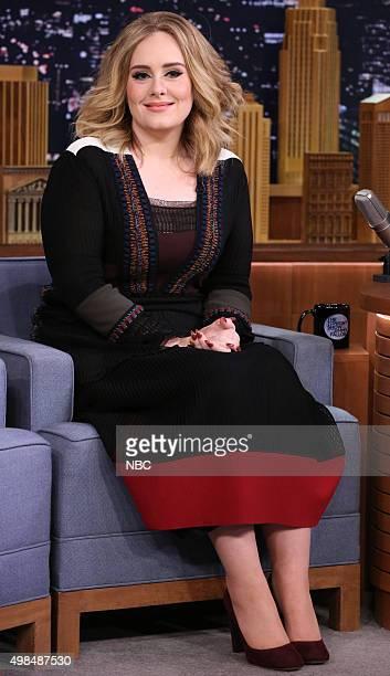 Singer Adele on November 23 2015
