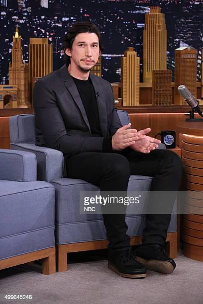 Actor Adam Driver on December 2 2015