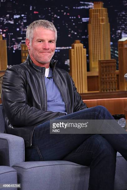 Professional football player Brett Favre on December 2 2015