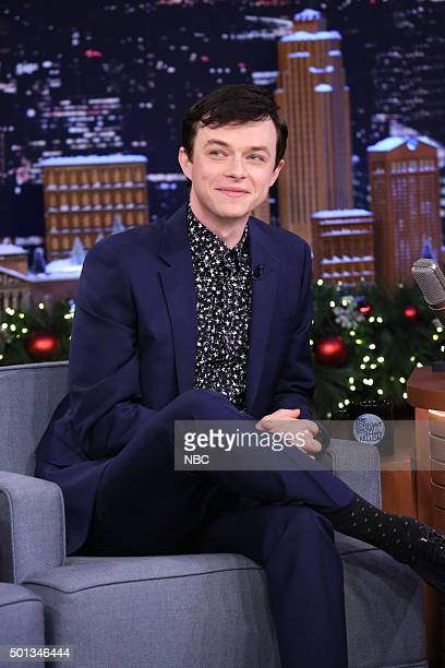 Actor Dane DeHaan during an interview on December 14 2015