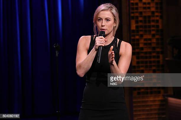 Comedian Iliza Shlesinger performs on January 8 2016