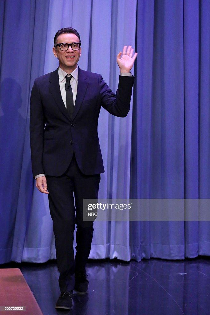 Actor Fred Armisen arrives on January 19 2016