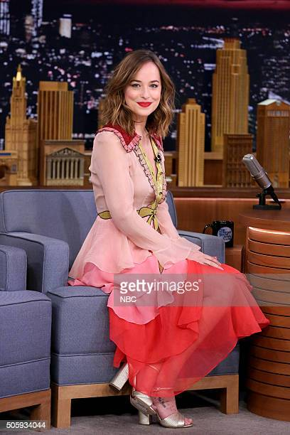 Actress Dakota Johnson on January 20 2016
