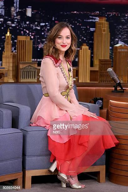 Actress Dakota Johnson on January 20 2016
