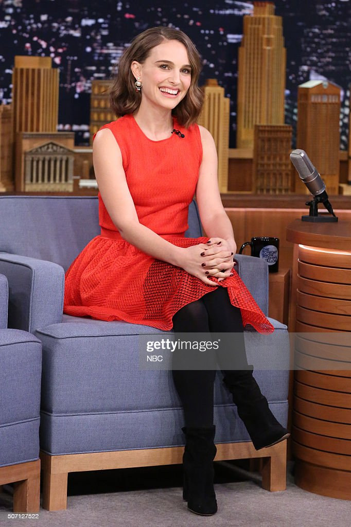 "NBC's ""The Tonight Show Starring Jimmy Fallon"" with guests Natalie Portman, John Oliver, Sia"