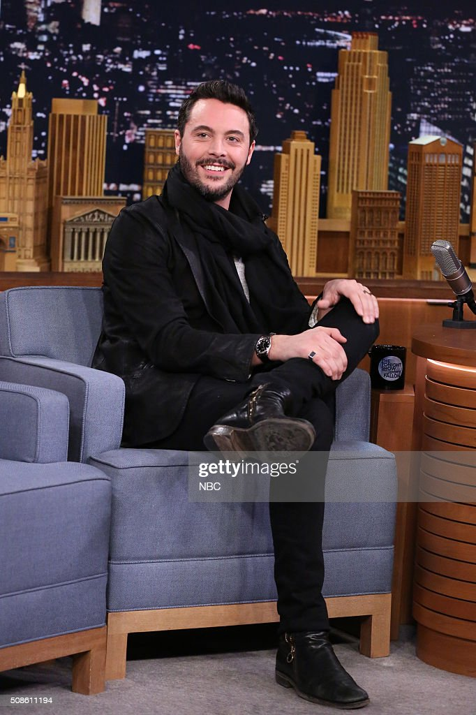 Actor <a gi-track='captionPersonalityLinkClicked' href=/galleries/search?phrase=Jack+Huston&family=editorial&specificpeople=839493 ng-click='$event.stopPropagation()'>Jack Huston</a> on February 5, 2016 --