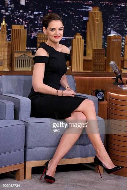 Actress Katie Holmes on February 9 2016