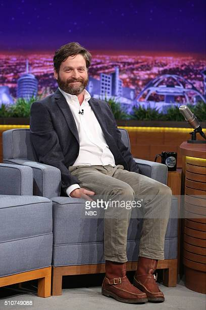 Actor Zach Galifianakis on February 16 2016