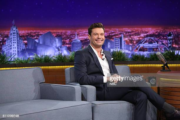 Radio personality Ryan Seacrest on February 18 2016