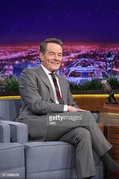 Actor Bryan Cranston on February 19 2016