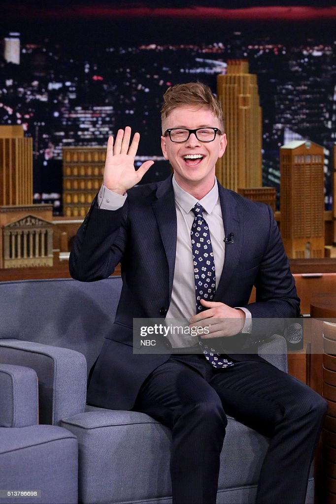 """NBC's """"The Tonight Show Starring Jimmy Fallon"""" with guests Gwyneth Paltrow, Tyler Oakley, The Who"""
