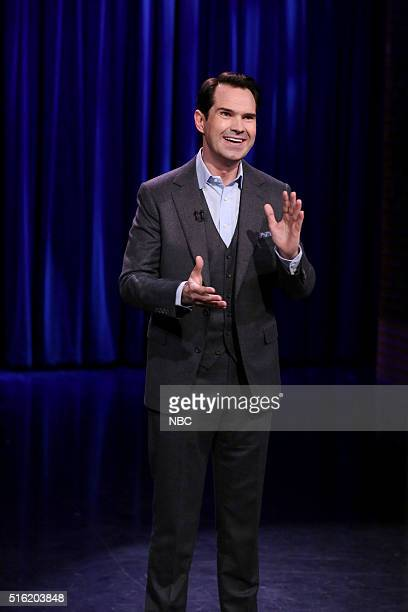Comedian Jimmy Carr performs on March 17 2016