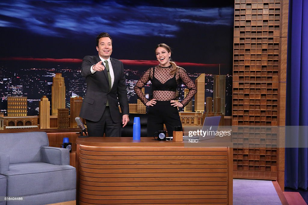 Melissa Benoist on jimmy fallon