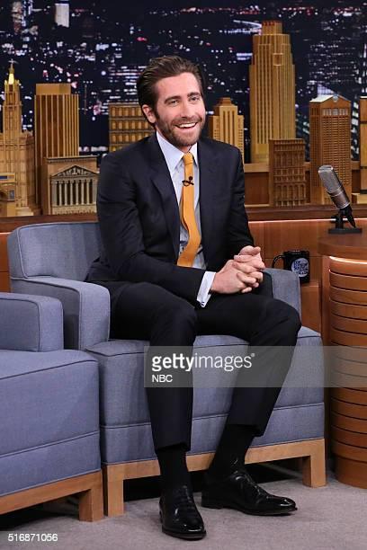 Actor Jake Gyllenhaal on March 21 2016