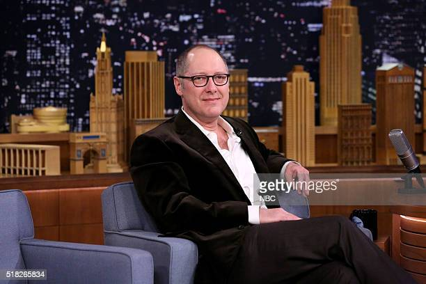 Actor James Spader on March 30 2016