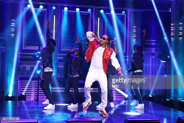Musical guest Future performs on April 14 2016