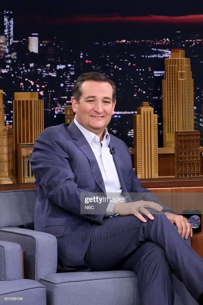 Senator Ted Cruz on April 14, 2016 --