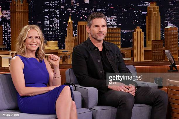 Comedian Chelsea Handler and actor Eric Bana on April 26 2016