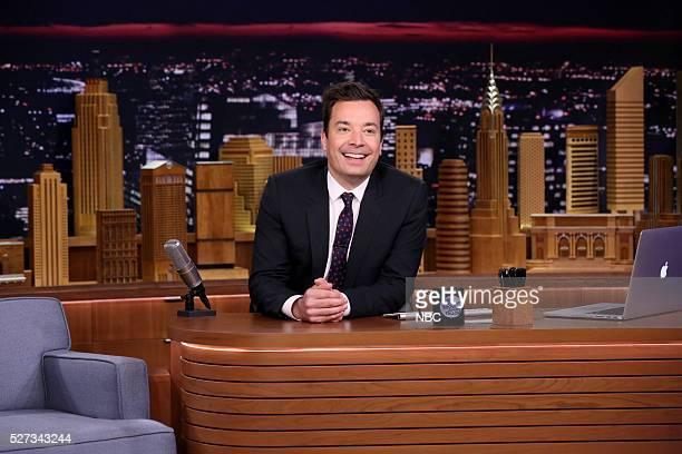 Host Jimmy Fallon on May 2 2016