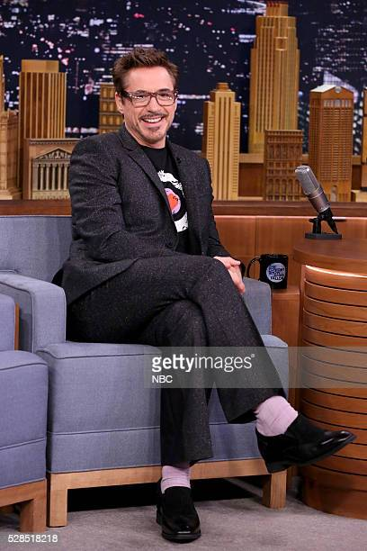 Actor Robert Downey Jr on May 5 2016