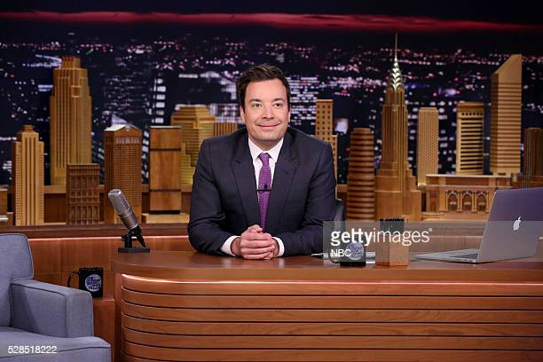 Host Jimmy Fallon on May 5 2016