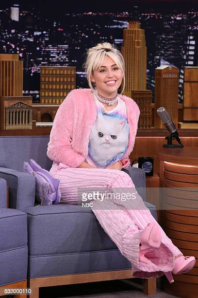Singer Miley Cyrus on May 17 2016