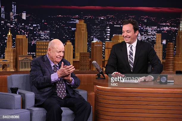Comedian Don Rickles during an interview with host Jimmy Fallon on June 14 2016