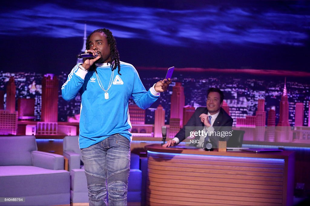 Musical guest Wale performs with The Roots on June 15 2016