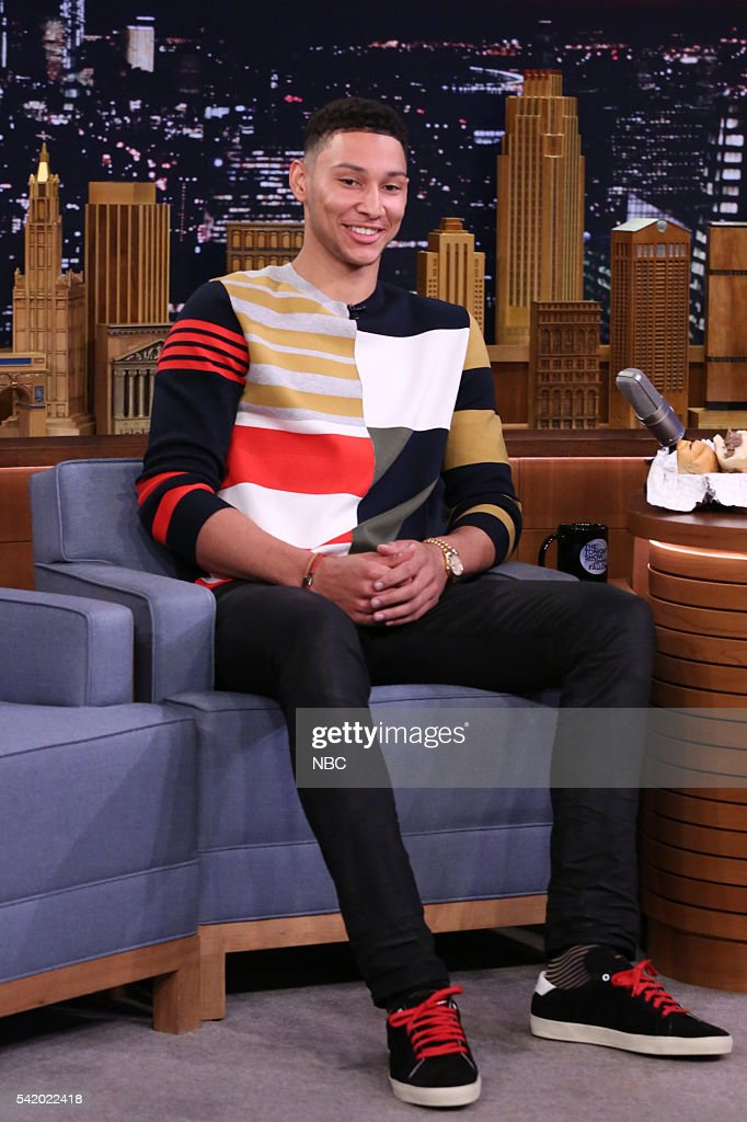 """NBC's """"The Tonight Show Starring Jimmy Fallon"""" with guests Whoopie Goldberg, Ben Simmons, Kevin Delaney"""