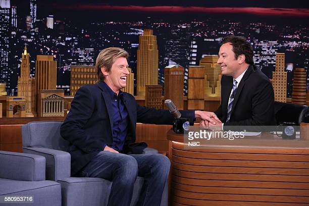 Actor Denis Leary during an interview with host Jimmy Fallon on July 25 2016
