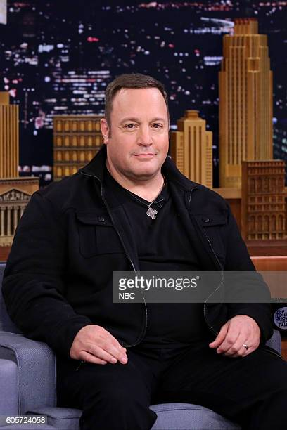 Actor Kevin James during an interview on September 14 2016