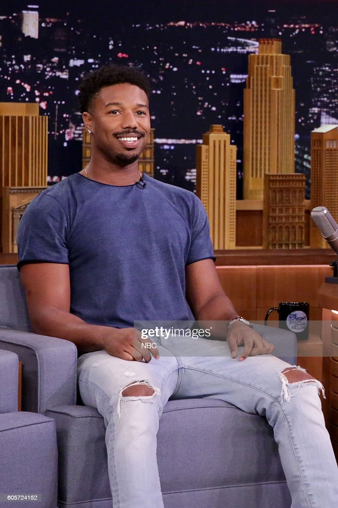 Actor Michael B. Jordan during an interview on September 14, 2016 --