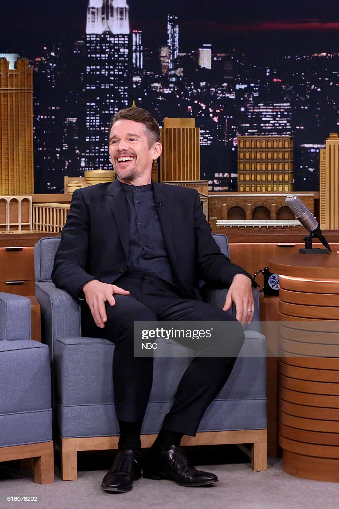 Actor Ethan Hawke on October 25, 2016 --
