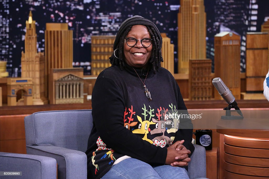 """NBC's """"The Tonight Show Starring Jimmy Fallon"""" with guests Whoopi Goldberg, Zoe Lister-Jones, Lecrae"""