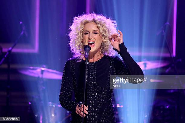 Kimberly Schlapman of musical guest Little Big Town performs on November 14 2016